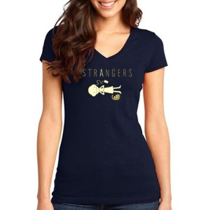 """Strangers"" Story-Lover Women's V-Neck"