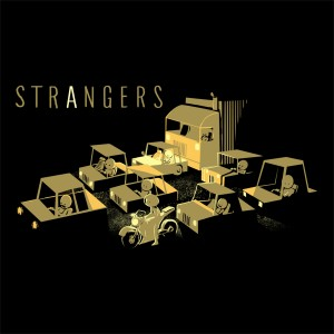 Strangers Traffic Jam T-Shirt Graphic