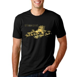 """Strangers"" Traffic Jam T-Shirt (Men's)"