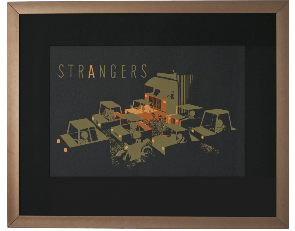 Strangers Poster With Frame