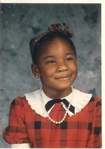Jenni as a little girl.