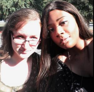 Jenni with a friend
