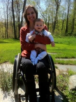 Lyena and her son, Aidan.