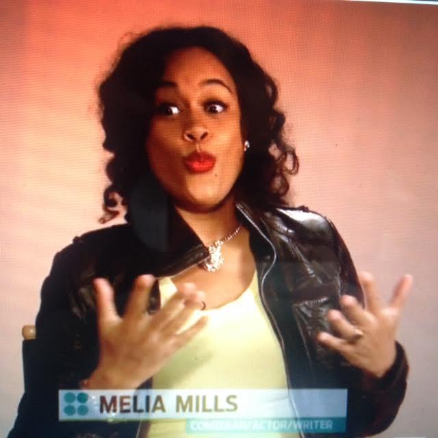 Melia Mills on T.V.
