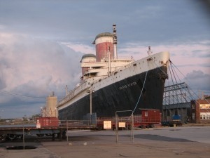 The SS United States. -Photo by Lowlova