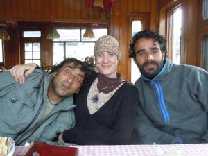 Fayaz, Jo and Moona