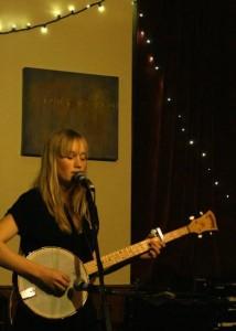 Tamara Lindeman, now a professional musician.