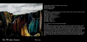 """The Line"" — Tamara's first album, inspired by Andre and by her experiences in Newfoundland."