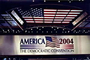 The 2004 Democratic National Convention convened from July 26 to 29, 2004 at the FleetCenter (now the TD Garden) in Boston, Massachusetts