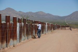 "Laura Starecheski of ""State of the Re:Union"" at the U.S./Mexican border"
