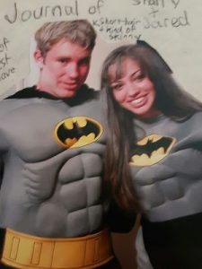 Jared and Sharry on Halloween, 2004. The day before their first kiss!